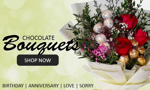 Chocolate Bouquets | Myflowerflorist