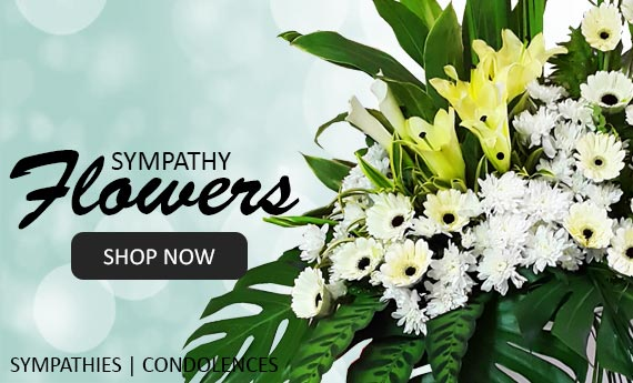 Funeral Flowers | Send Sympathy & Condolence Flowers | Same Day Delivery Available | Myflowerflorist.com