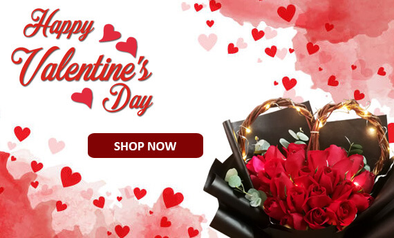 Valentine's Day Flowers & Gifts | Send Flowers and Arrangements for your love ones across