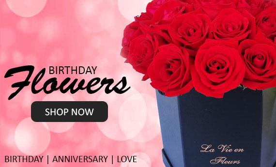 Birthday Flowers | Send Flowers Online from Myflowerflorist.com