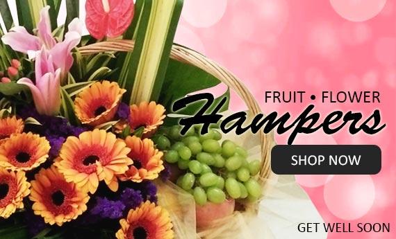 Fruit and Flowers Hampers | Myflowerflorist