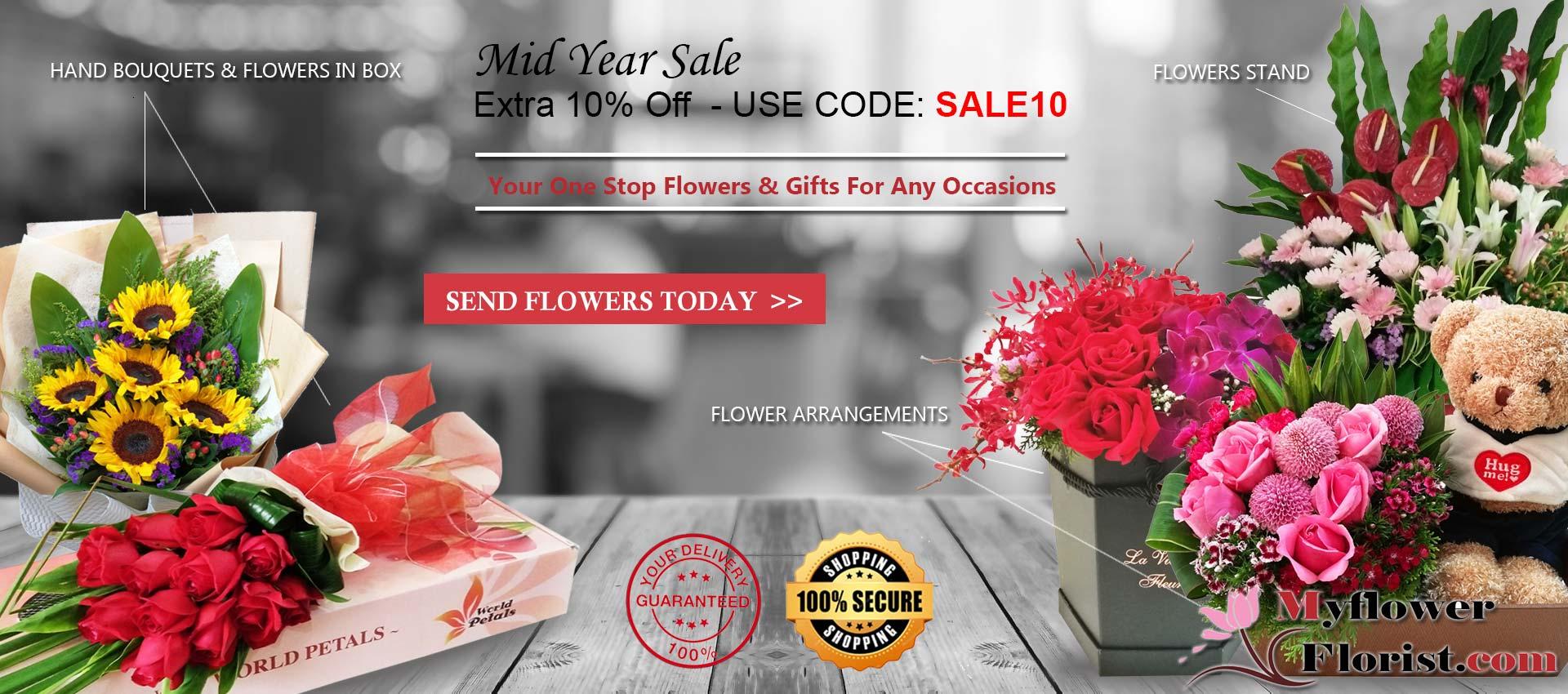 Malaysia Best Online Florist | Myflowerflorist.com