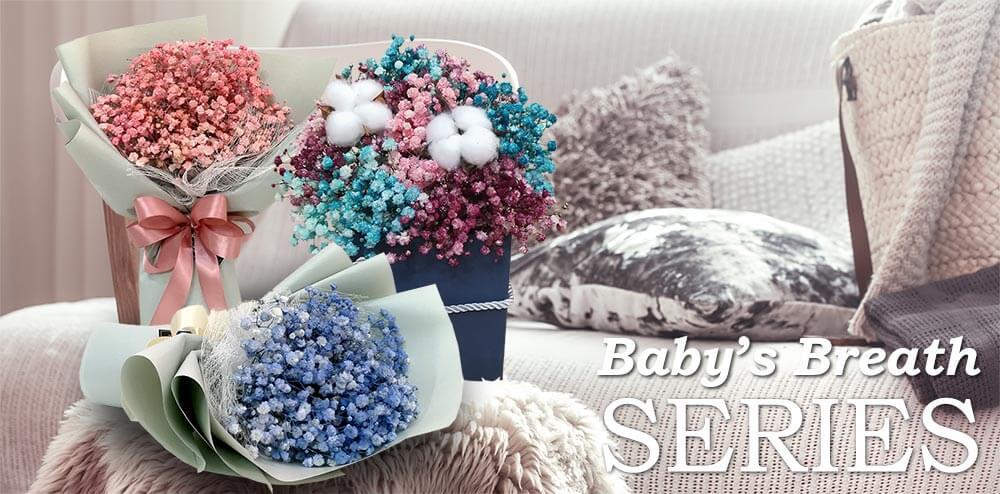 Baby Breath Bouquets & Arrangements