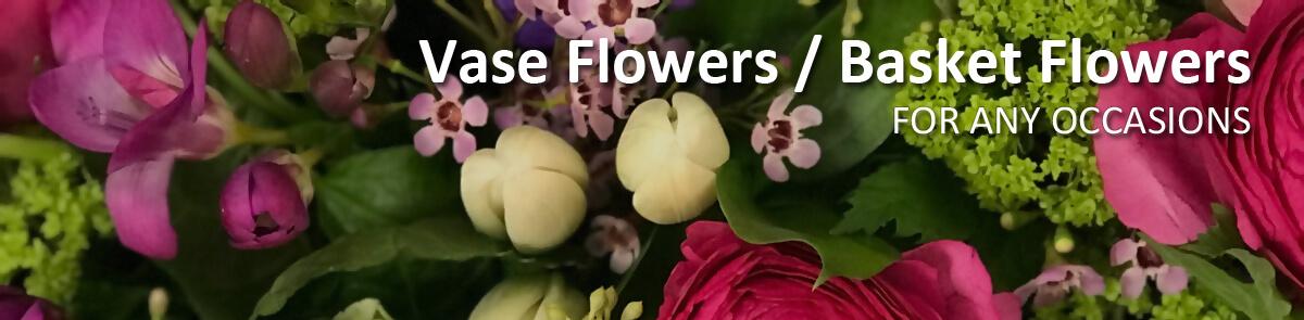 Vase Flowers & Basket Flowers