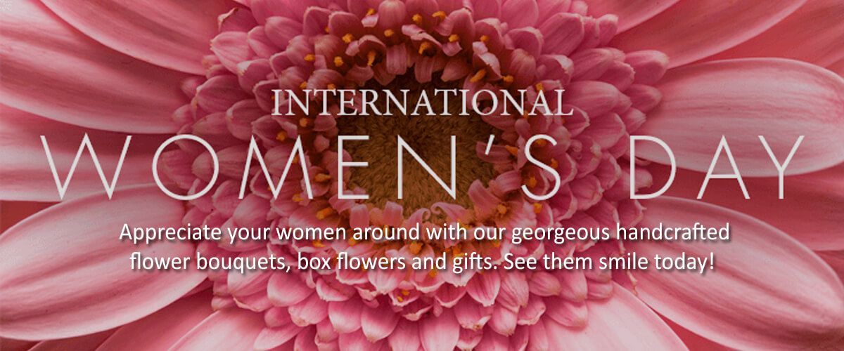 Women's Day Flowers & Gifts