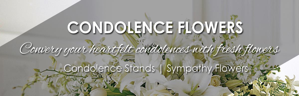 Condolence Stands | Sympathy Flowers