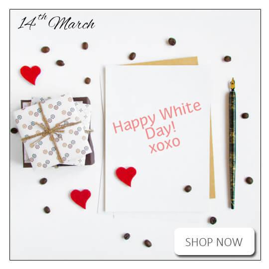 White Day / White Valentine's Day Flowers