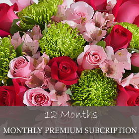 Monthly Premium Subscription (12 Months)