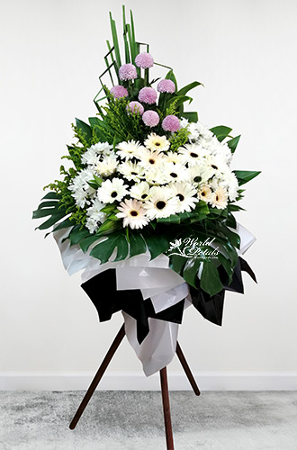Embrace of Comfort - Condolence / Funeral Stand